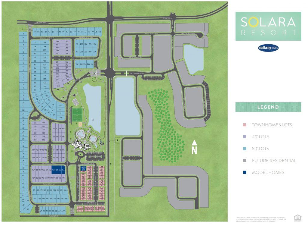 Solara at Westside siteplan